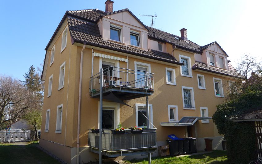 Ideal 3 room apartment for beginners and investors over the rooftops of Singen