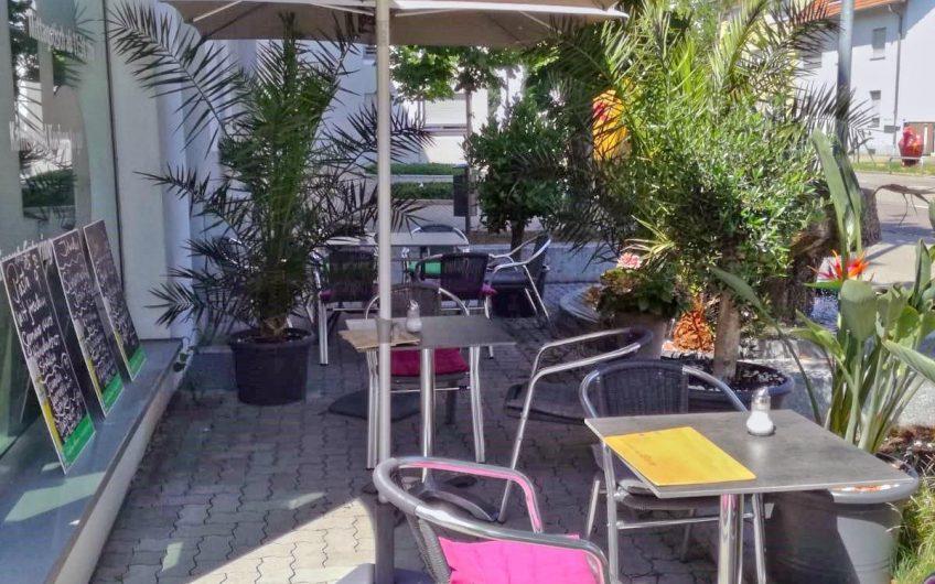 Niedliches Café mit Sonnenterasse in Karlsruhe